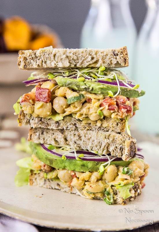 Chipotle Smashed Chickpea Salad Sandwich-171