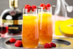Mango Raspberry Mimosa Recipe