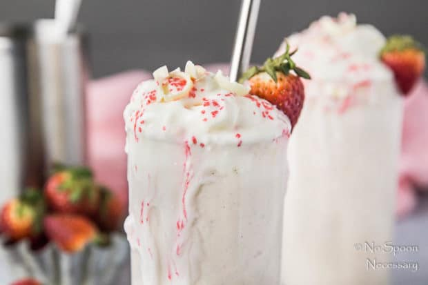 White Chocolate Covered Strawberry Boozy Milkshake-79
