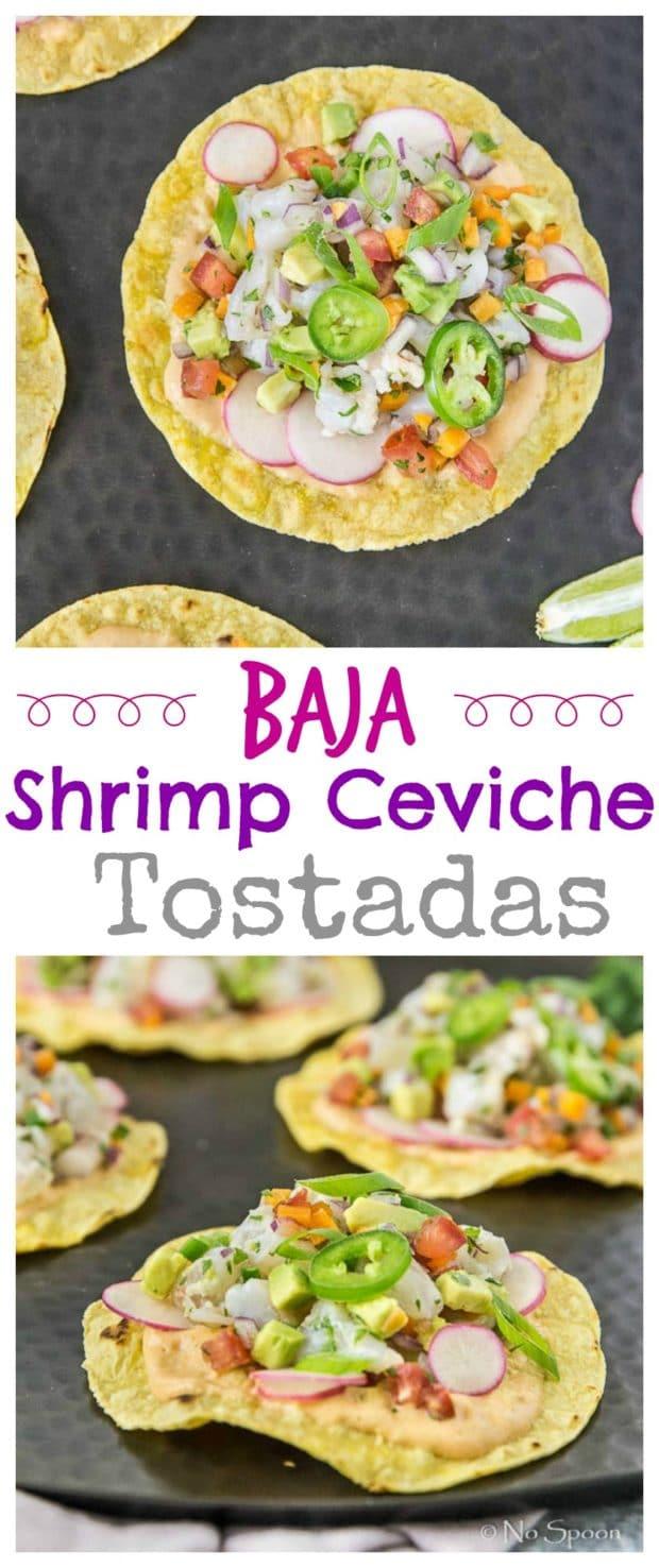 Baja Shrimp Ceviche Tostadas - Final- long pin1