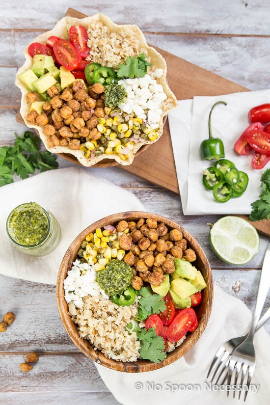 Chickpea Cauliflower Burrito Bowl-247