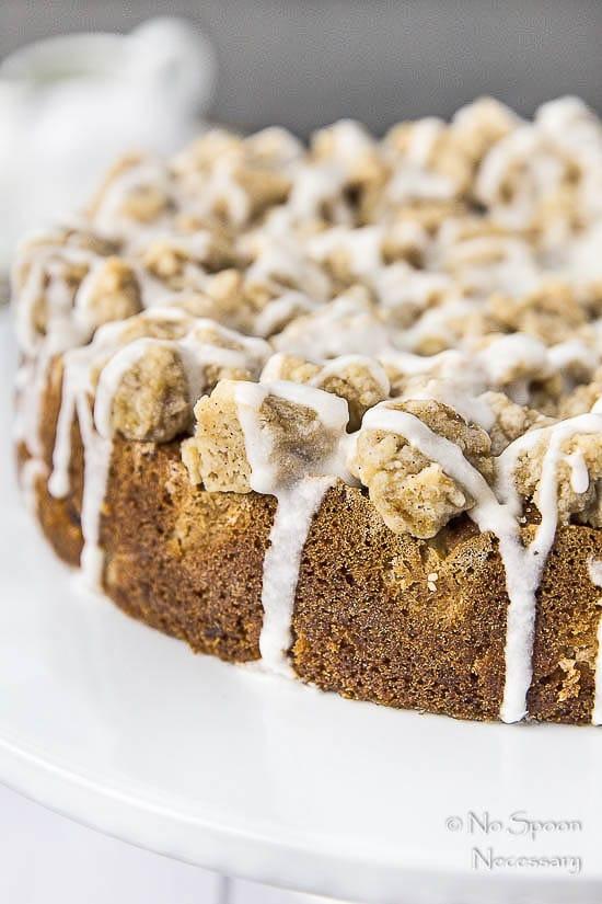 Rhubarb & Candied Ginger Crumb Cake 4