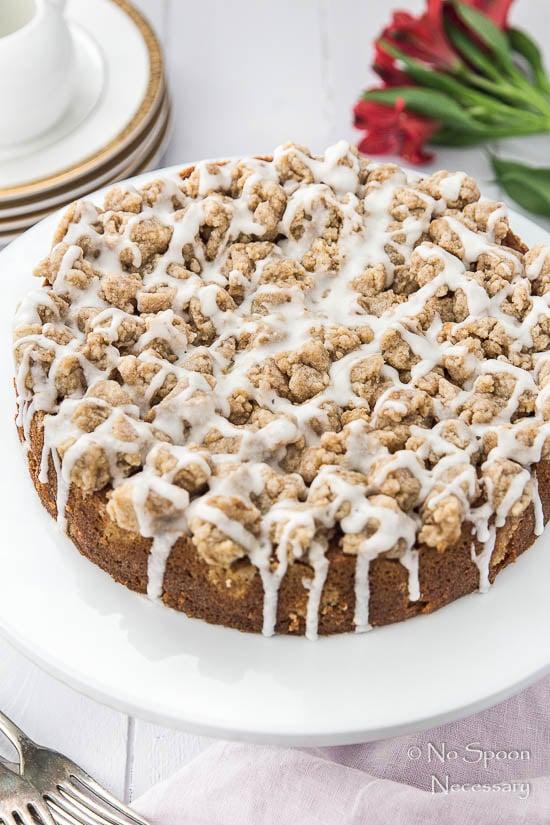 Rhubarb & Candied Ginger Crumb Coffee Cake-216