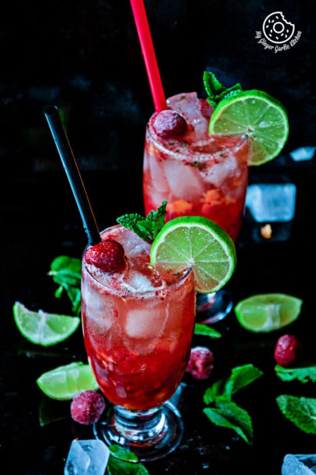 recipes-Dark-Rum-Strawberry-Mango-Mojito-anupama-paliwal-my-ginger-garlic-kitchen-1-683x1024