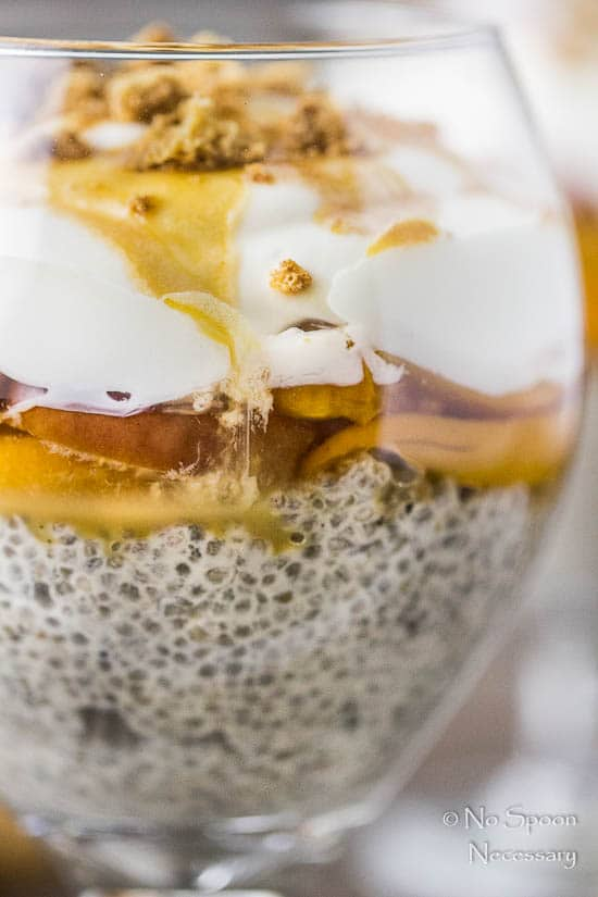 Amaretto Peaches & Cream Chia Pudding Trifle-132