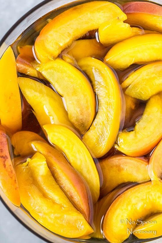 Amaretto Peaches & Cream Chia Pudding Trifle-8