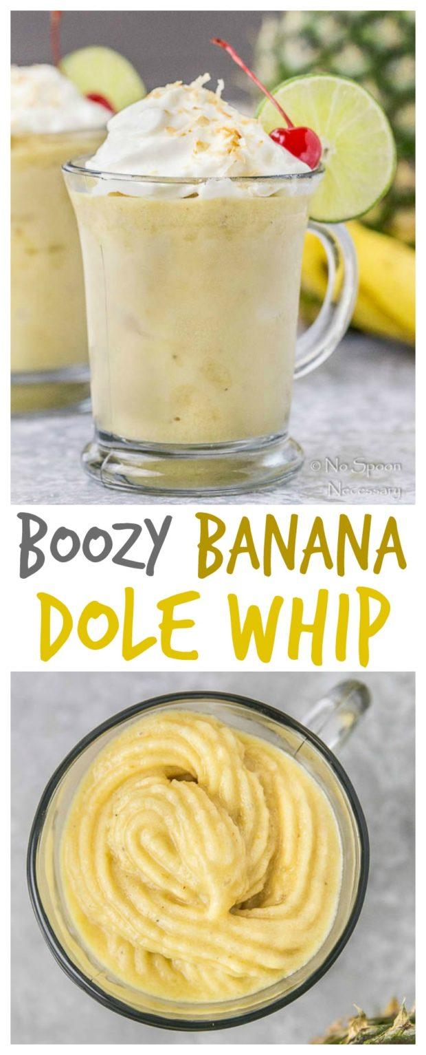 Boozy Banana Dole Whip- long pin1