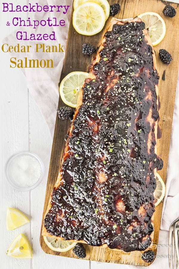 Blackberry-Chipotle Glazed Cedar Plank Salmon-short pin1