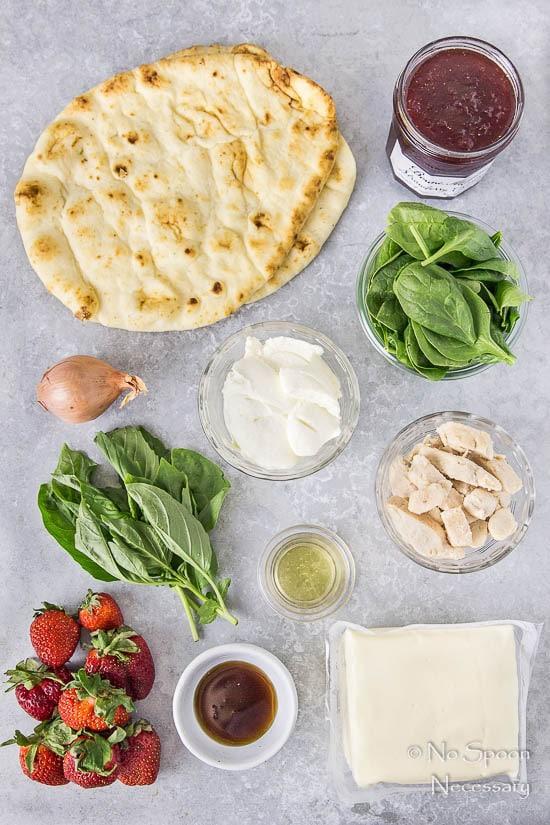Chicken, Spinach & Strawberry Pizza-15