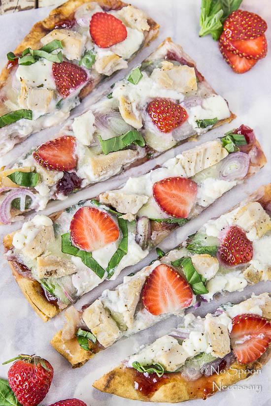 Chicken, Spinach & Strawberry Pizza-181