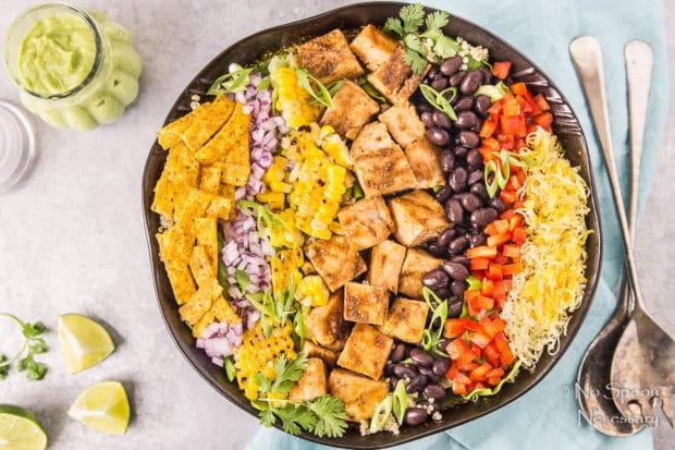 Southwestern Honey BBQ Chicken Quinoa Salad-103