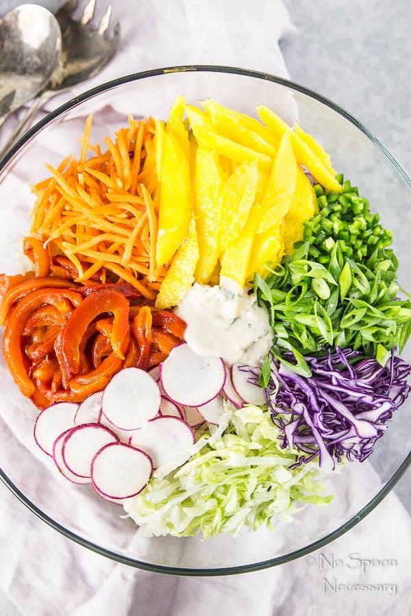 Thai Cashew & Mango Slaw Salad-14