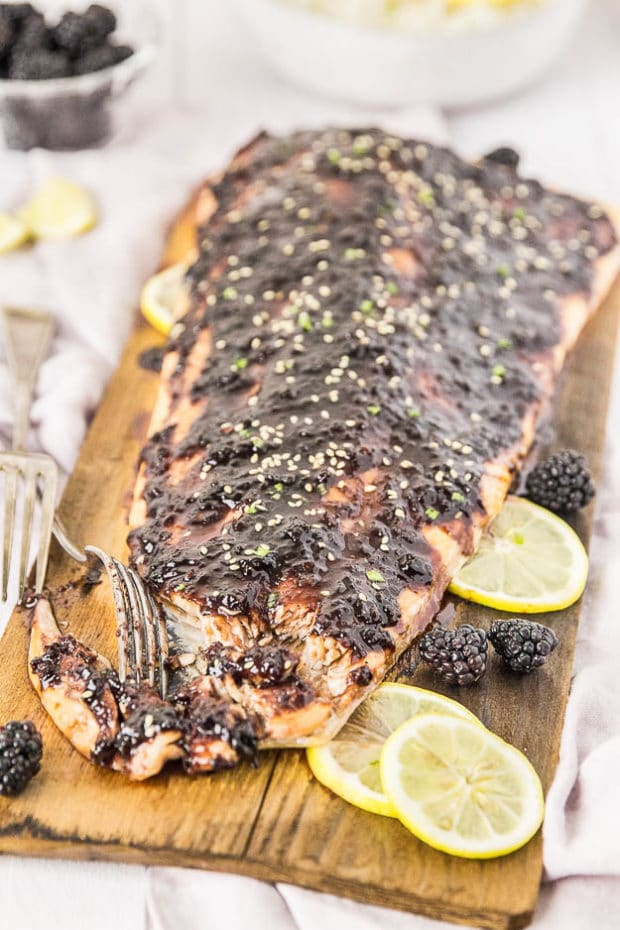 Blackberry-Chipotle Glazed Cedar Plank Salmon-125