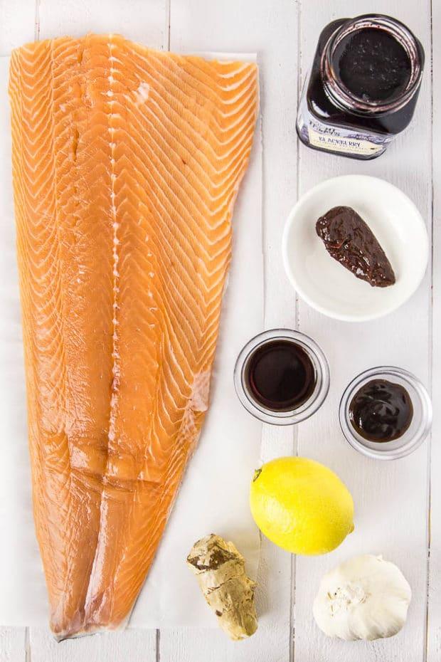 Blackberry-Chipotle Glazed Cedar Plank Salmon-14