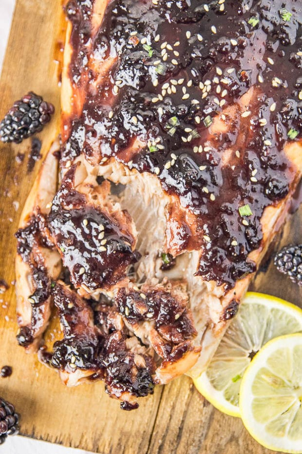 Blackberry-Chipotle Glazed Cedar Plank Salmon-162