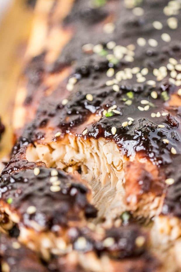 Blackberry-Chipotle Glazed Cedar Plank Salmon-176