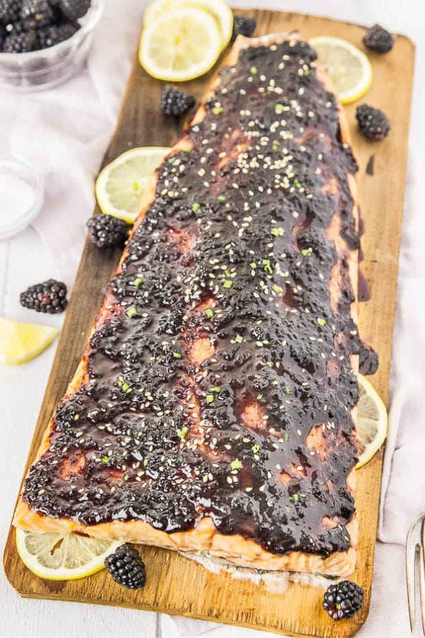 Blackberry-Chipotle Glazed Cedar Plank Salmon-39