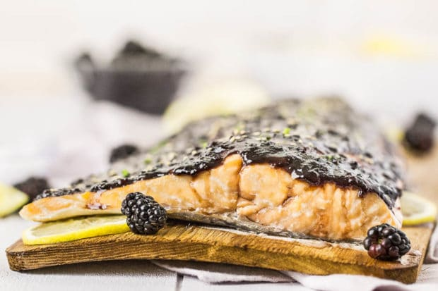 Blackberry-Chipotle Glazed Cedar Plank Salmon-58