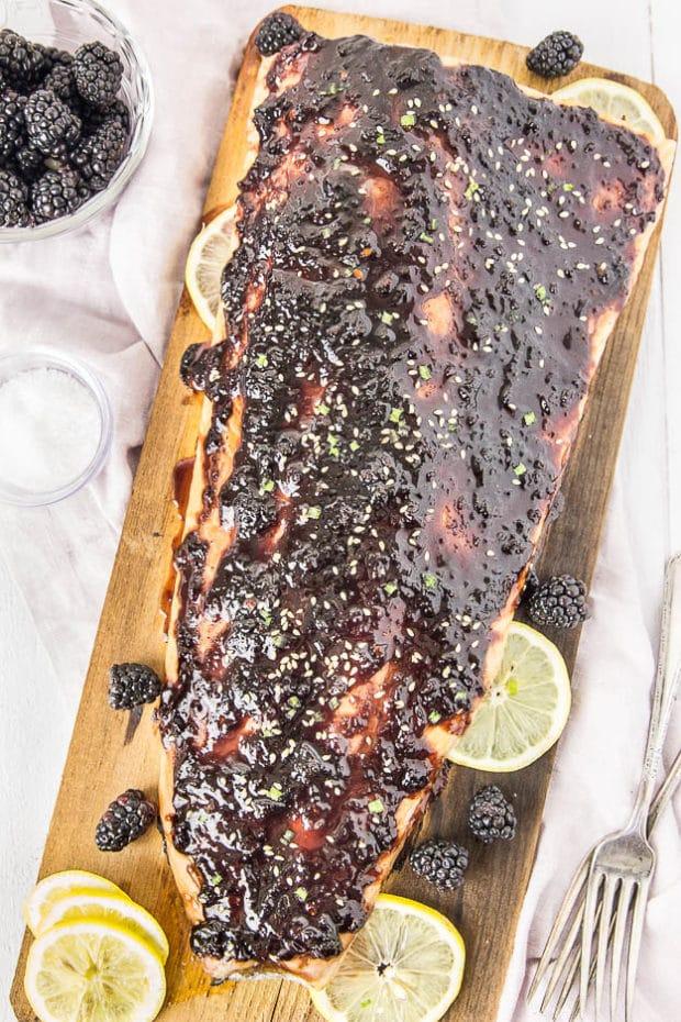 Blackberry-Chipotle Glazed Cedar Plank Salmon-83