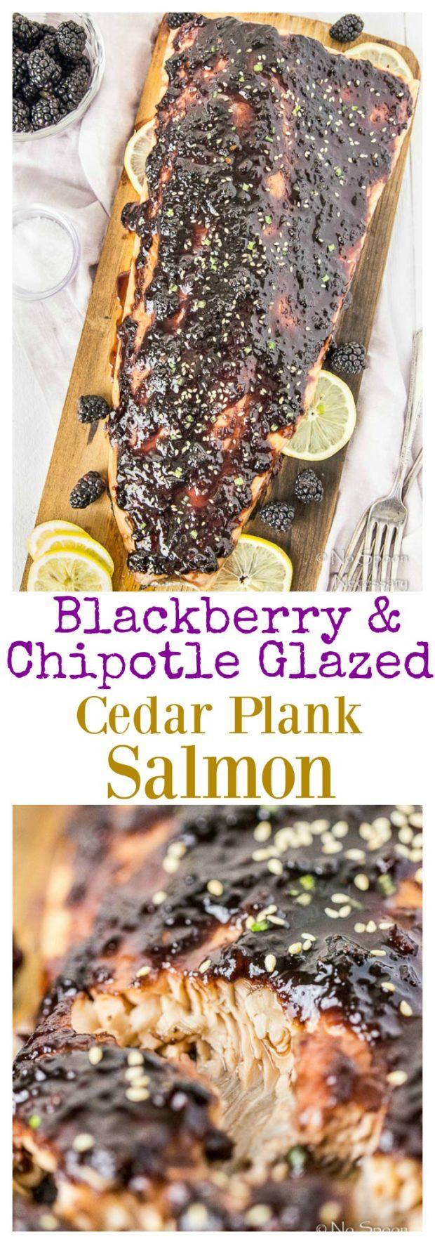 Blackberry-Chipotle Glazed Cedar Plank Salmon-long pin3