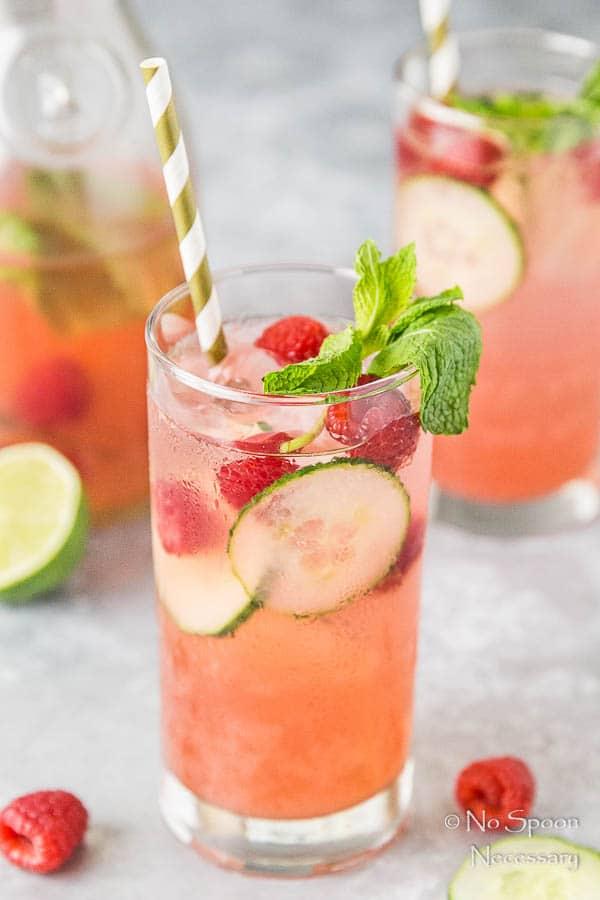 Cucumber & Raspberry Mojito-138
