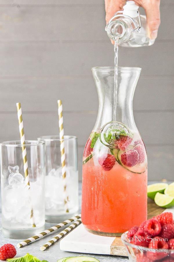 Cucumber & Raspberry Mojito-22