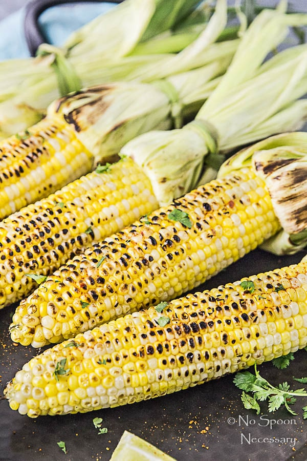 Grilled Corn on the Cobb with Avocado-Sriracha Butter-70