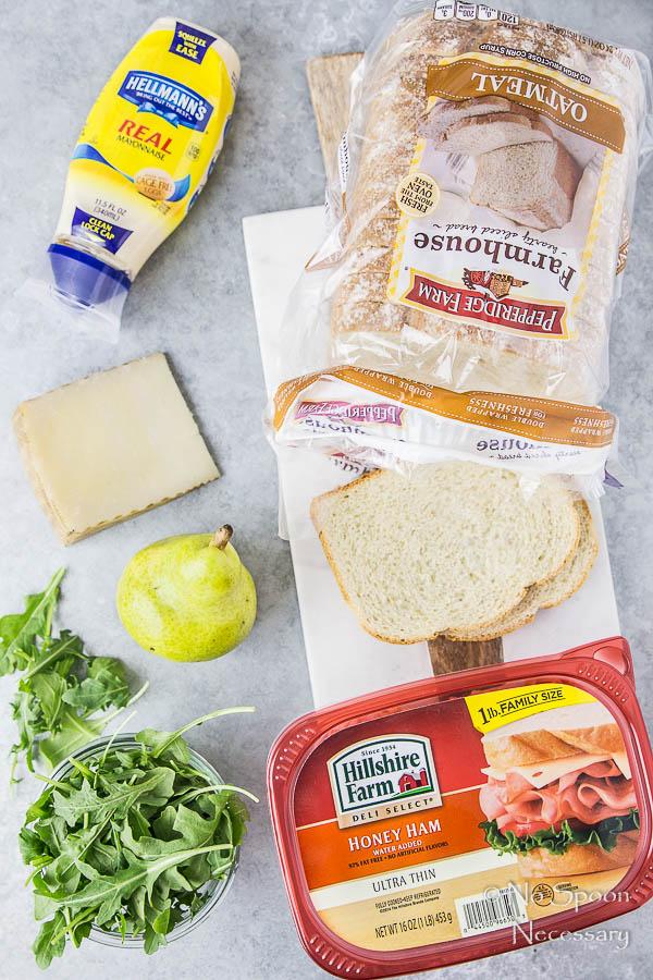 Ham & Pear Sandwich with Arugula & Manchego-18
