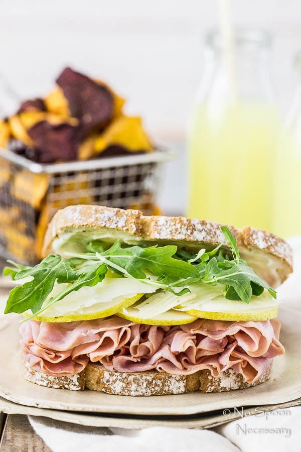 Ham & Pear Sandwich with Arugula & Manchego-23