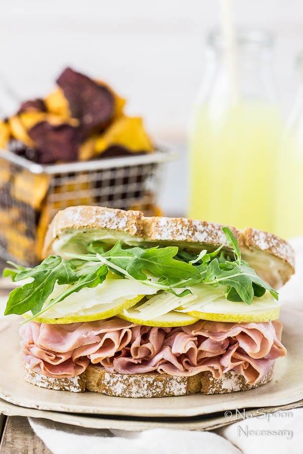 Ham & Pear Sandwich with Arugula & Manchego-23
