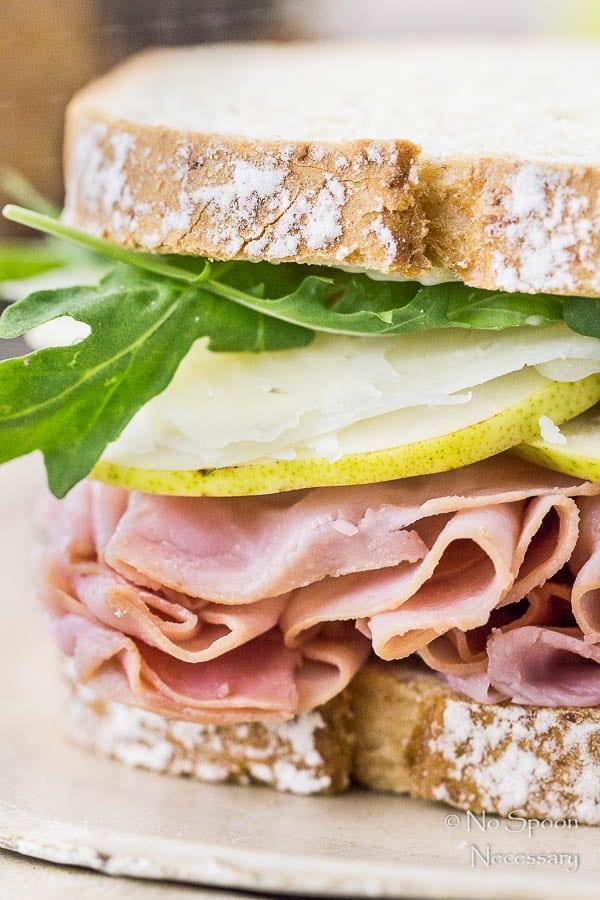 Ham & Pear Sandwich with Arugula & Manchego-54
