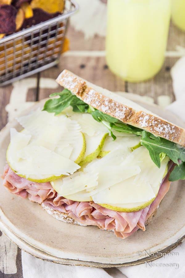 Ham & Pear Sandwich with Arugula & Manchego-92