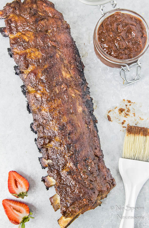 Jalapeno & Roasted Strawberry BBQ Sauce Baby Back Ribs-58