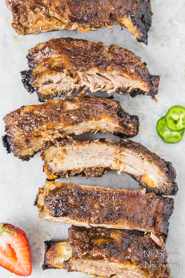Jalapeno & Roasted Strawberry BBQ Sauce Baby Back Ribs-72