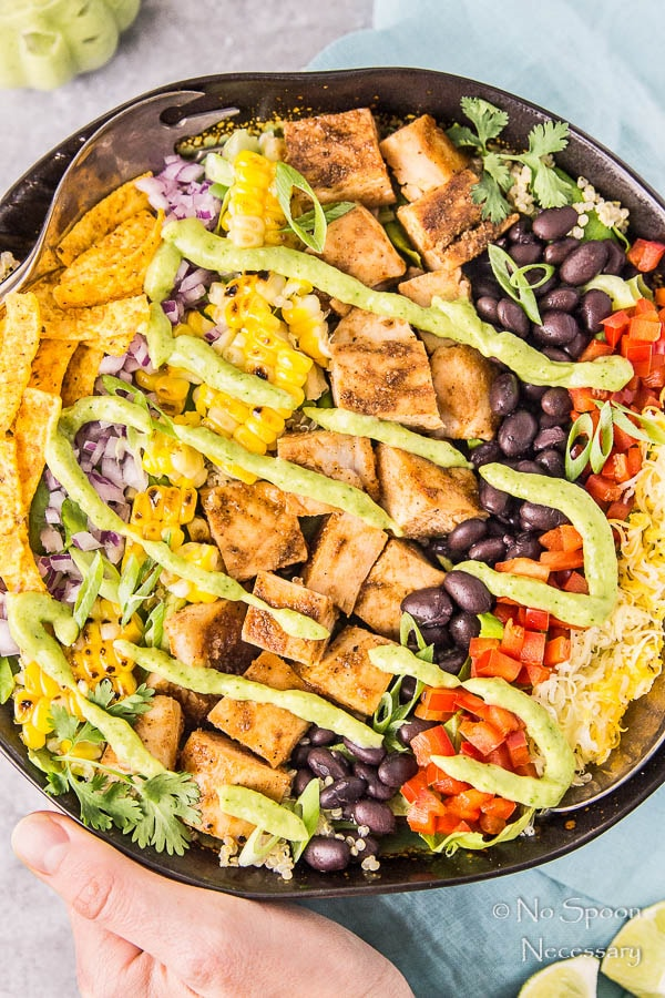 Southwestern Honey BBQ Chicken Quinoa Salad-138