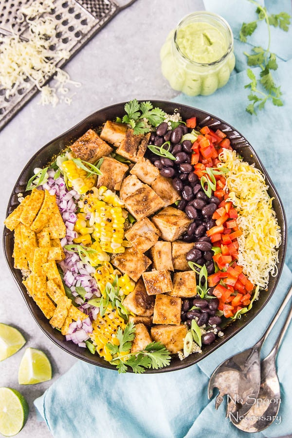 Southwestern Honey BBQ Chicken Quinoa Salad-43