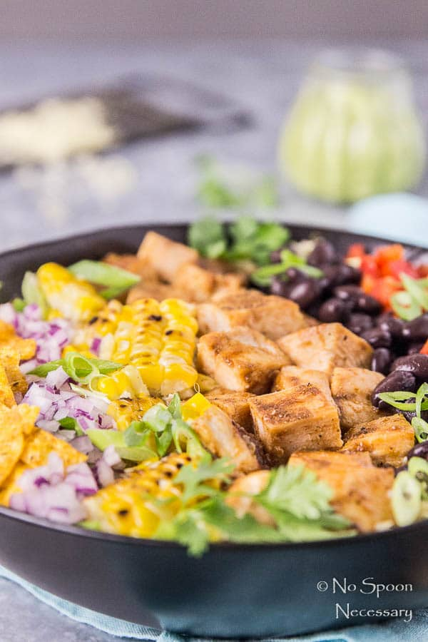 Southwestern Honey BBQ Chicken Quinoa Salad-61