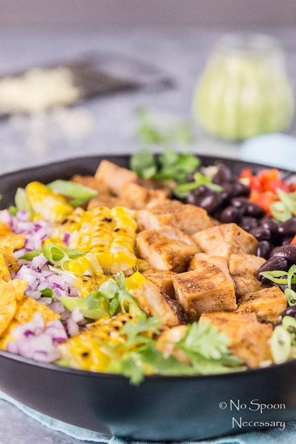 Southwestern Honey BBQ Chicken Quinoa Salad-61