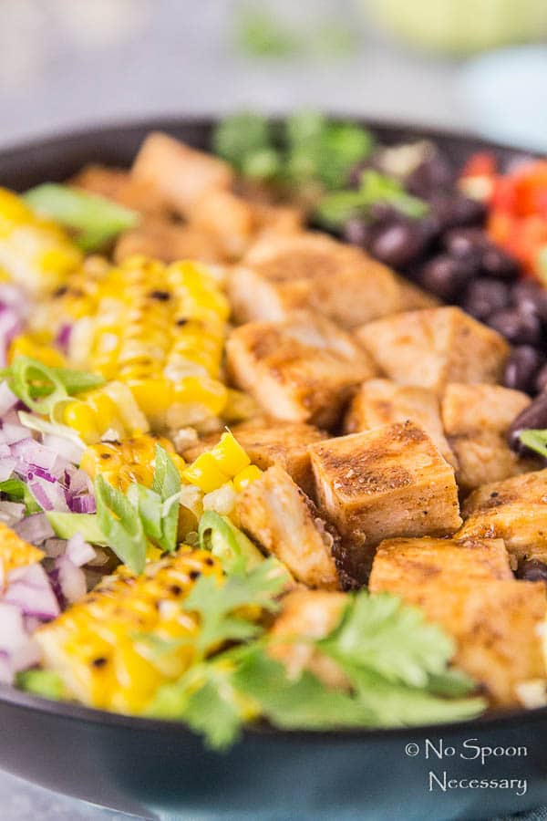 Southwestern Honey BBQ Chicken Quinoa Salad-68