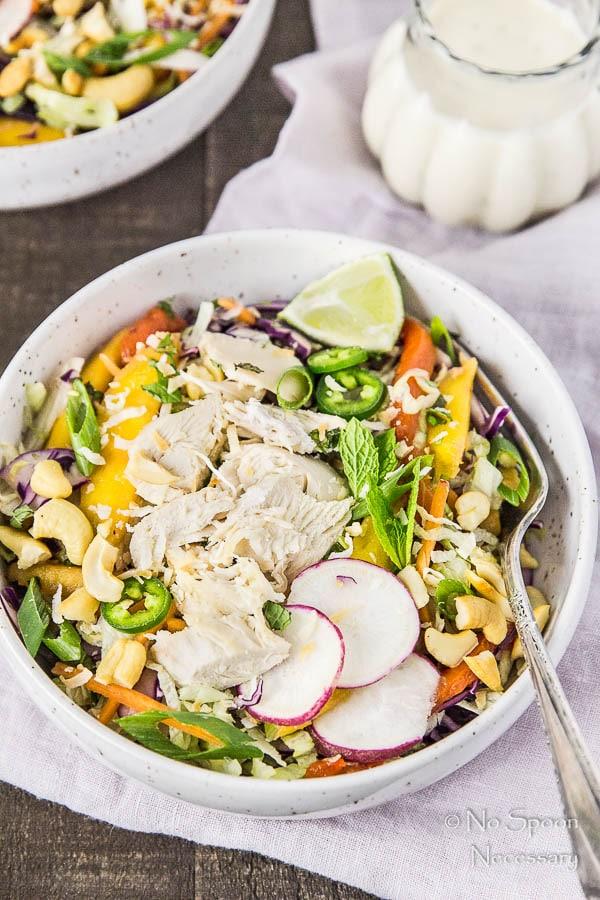 Thai Cashew & Mango Slaw Salad-132