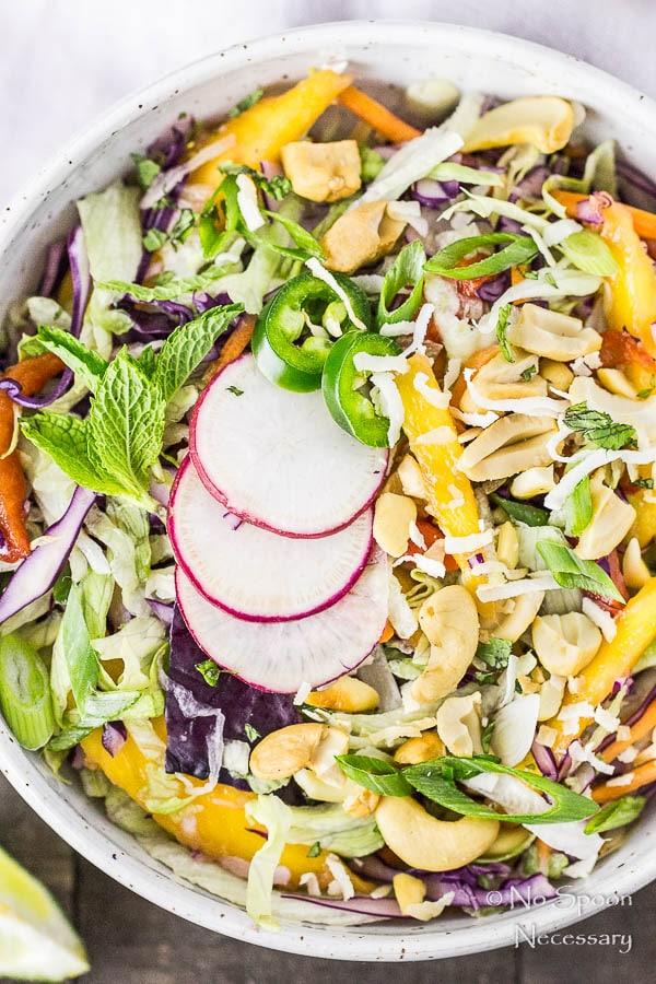 Thai Cashew & Mango Slaw Salad-44