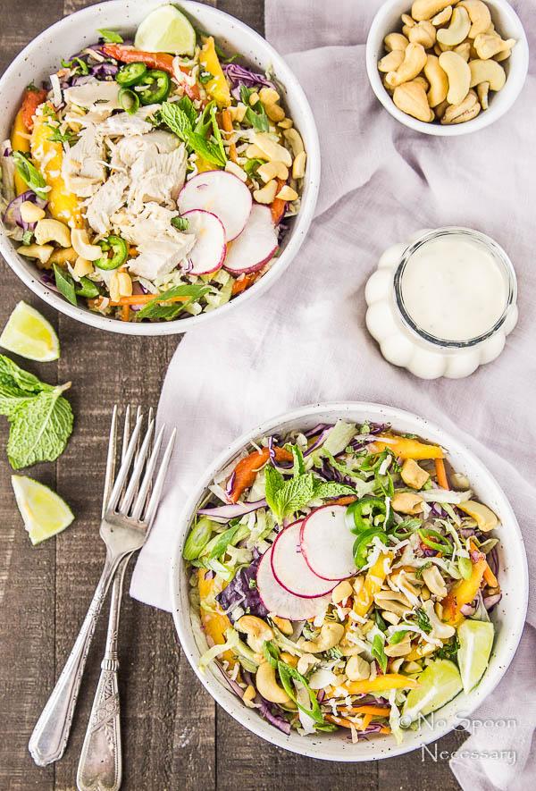 Thai Cashew & Mango Slaw Salad-67