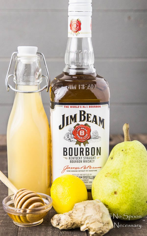 ginger-pear-bourbon-splash-cocktail-set-up