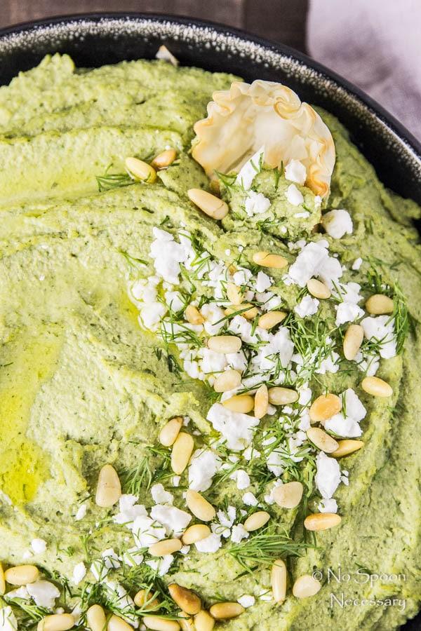 Spanakopita Flavored Hummus-184