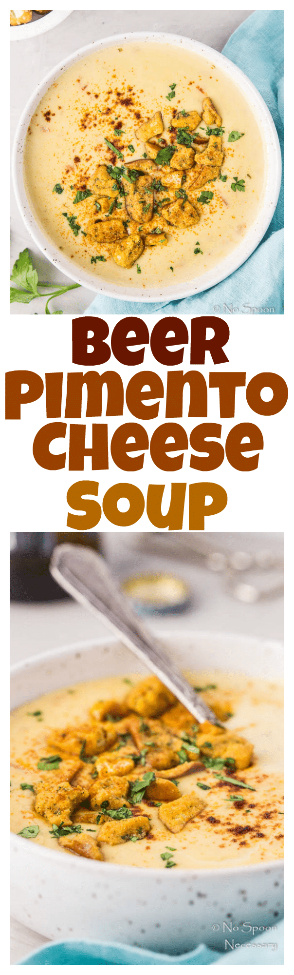Beer Pimento Cheese Soup