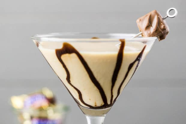 Snickertini - Snickers Martini