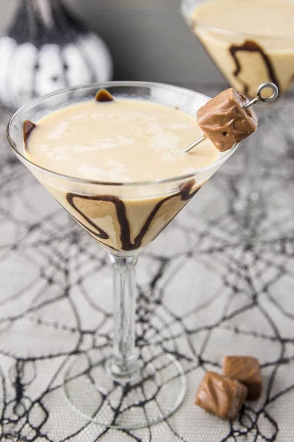 Snickertini - Snickers Martini