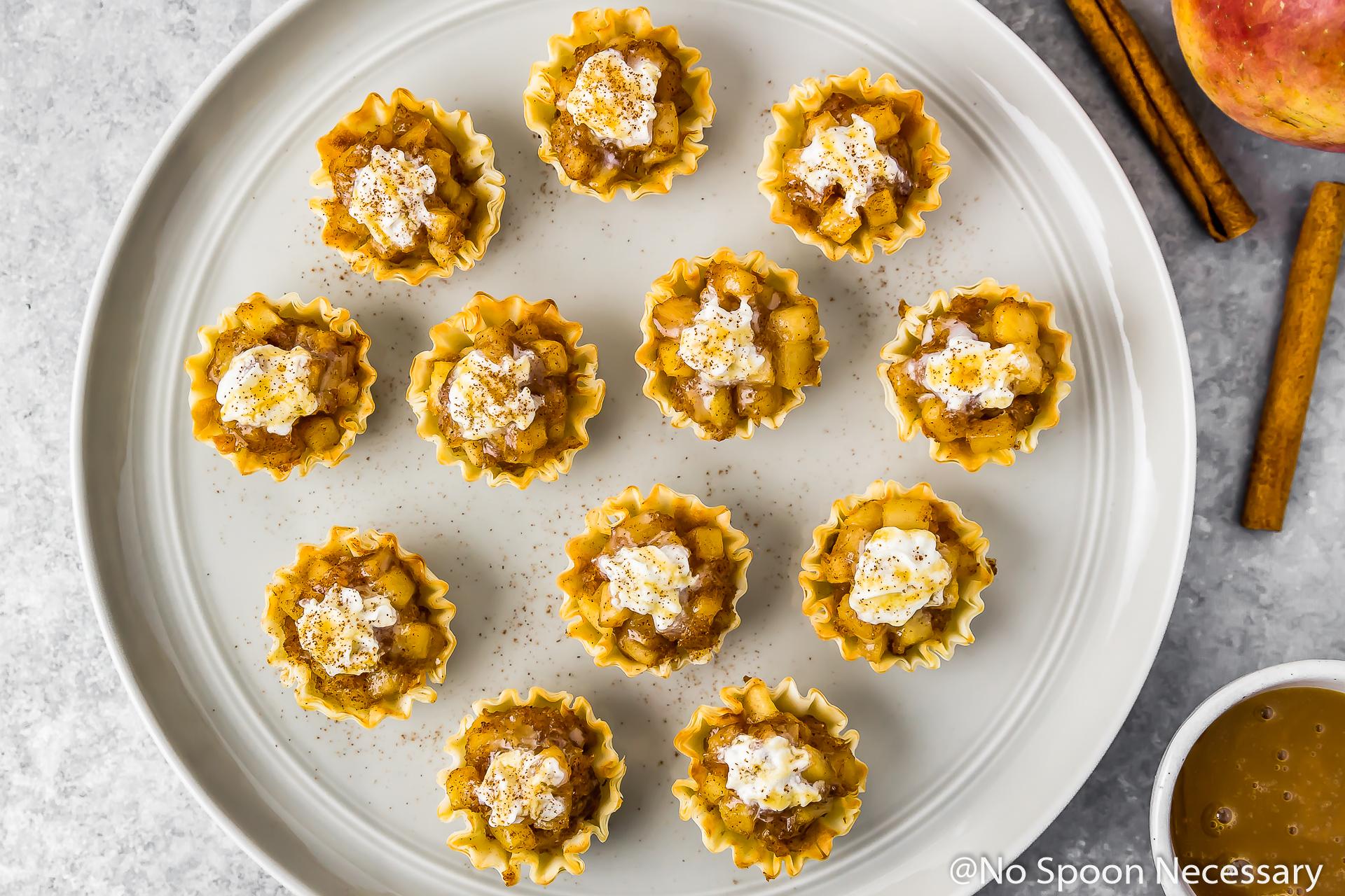 Mini Easy Apple Pie Bites