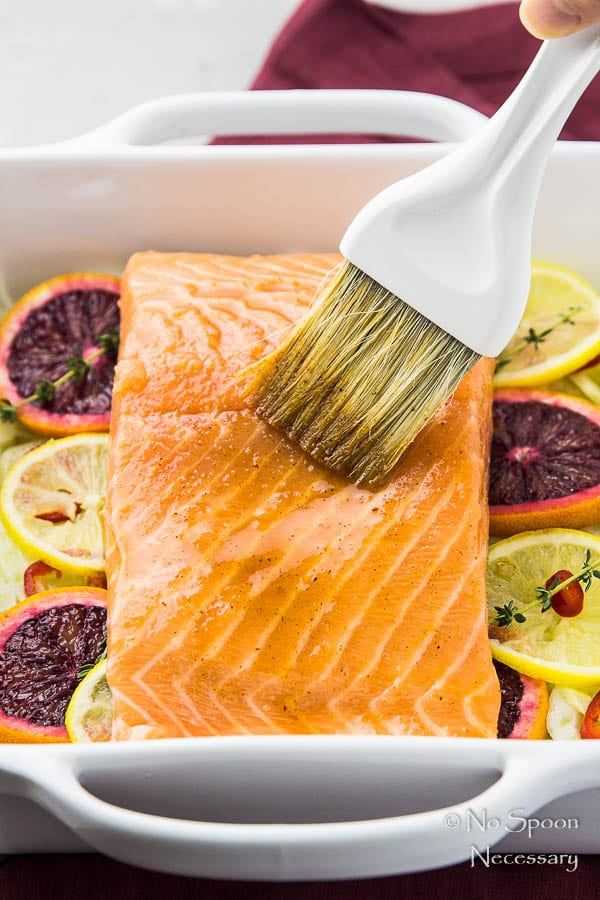 Citrus & Honey Roasted Salmon