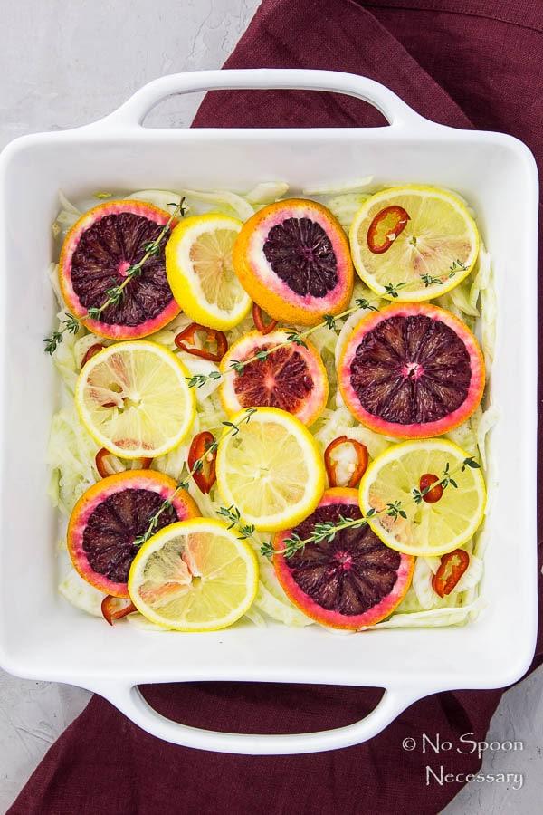 Citrus & Honey Roasted Salmon